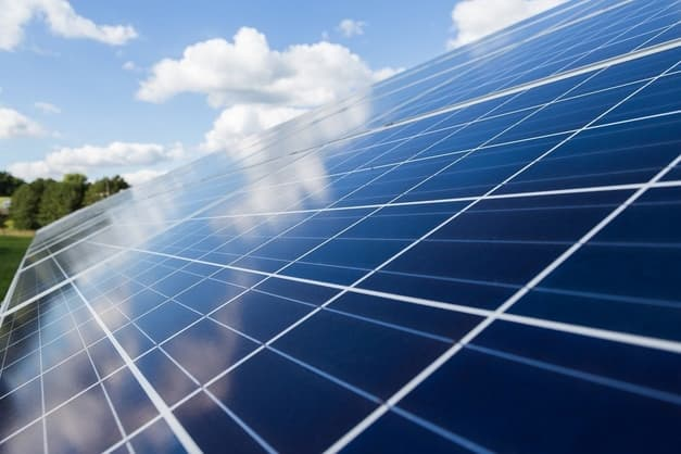 picture is showing solar panel